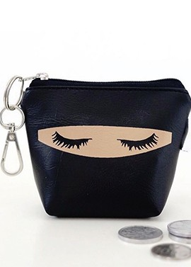 "Porte Monnaie porte clefs Collection ""Niqabie"" Exclusivité"